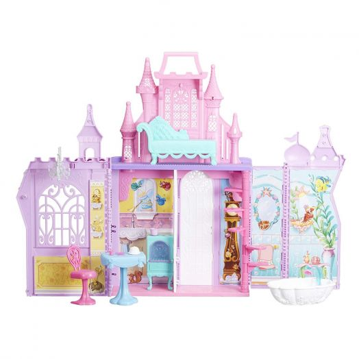 Lėlės - princesės pilis Disney Princess Pop-up Palace
