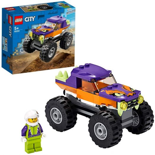 60251 LEGO® City Great Vehicles Sunkvežimis monstras