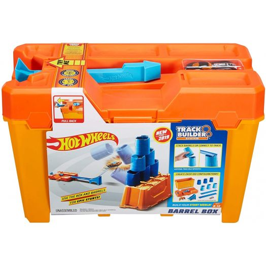 "Hot Wheels trasa ""Track Builder Barrel Box"". GCF91"