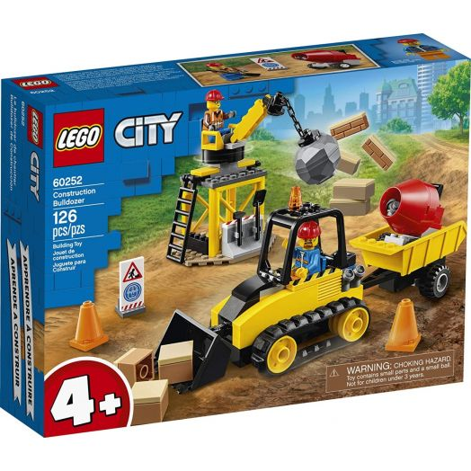 60252 LEGO® City Great Vehicles Statybų buldozeris