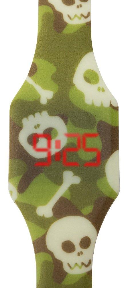 """Laikrodžiai vaikams - Vaikiškas LED laikrodis """"Kamufliažas"""""""