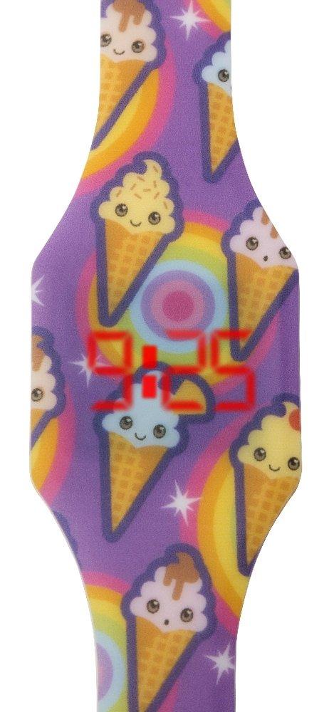 """Laikrodžiai vaikams - Vaikiškas LED laikrodis """"Ledai"""""""